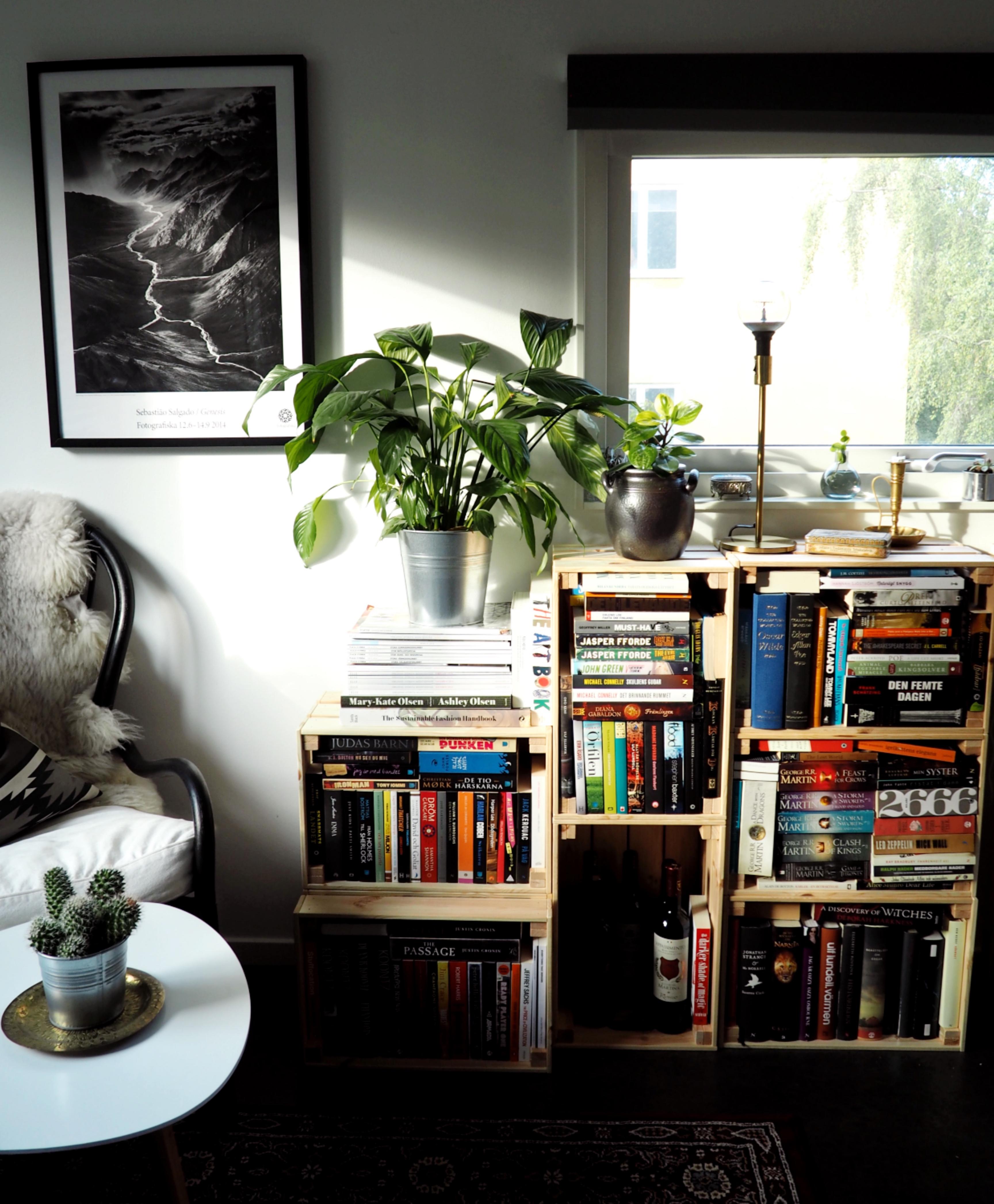 Tiny Living Hemma hos mig DIY bokhyllor EKOENKELT